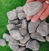 Siyah Dolomit Taş 2 Kg 2,5 4 Cm Tamburlu Taş Dolamit Taşı Doğal Taş Akvaryum Taşı Süs Taşı Dekor Taşı Dekoratif Taş Çakıl Taşı Bahçe Taşı