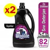 Woolite Koyu Renkler 2x2500 Ml Sıvı Çamaşır Deterjanı