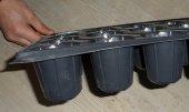 28 Gözlü Fide Viyolü 50 Adet Fide Viyol Tohum Çimlendirme Kabı Fide Yetiştirme Kabı Fide Yetiştirme Viyolü