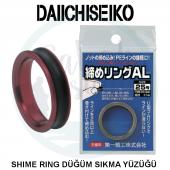 Daııchıseıko Shime Ring Düğüm Sıkma Yüzüğü Kırmızı # 21