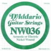 Daddario Nickel Wound, Regular Light, 10 46 Nw036