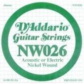 Daddario Nickel Wound, Regular Light, 10 46 Nw026