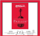 Daddarıo J1013 4 4m Cello Tek Tel, Prelude, G Sol, 4 4 Dadario