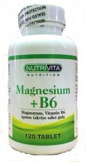 Nutrivita Magnesium + B6 Vitamin 120 Tablet