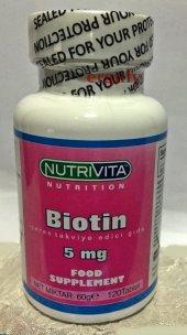 Nutrivita Nutrition Biotin 5 Mg