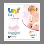 Unı Baby Göğüs Pedı 24 Lü Süper Emıcı Çok İnce
