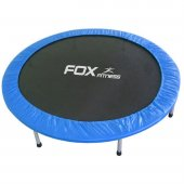 Fox Fitness 115 Cm Oxford Kumaşlı Mavi Trambolin