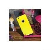 Iphone 6 Sarı Sert Slikon Kılıf