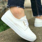 Chekich Erkek Günlük Spor Ayakkabı Beyaz* Arac Kokusu Hediyeli