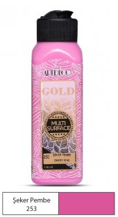 Artdeco Multi Surface Akrilik Boya 140ml Şeker Pembe 253