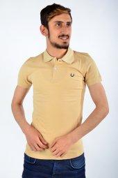 Polo Yaka Bej Tshirt