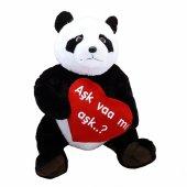 Kalpli Peluş Panda 70 Cm