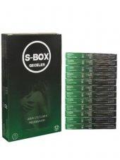 S Box Kondom Nıght 12 Kutu Uzun Geceler Prezervatifi