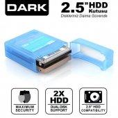 Dark Dk Ac Dak2b 2.5 Çift Disk Koruma Ve Taşıma Kutusu