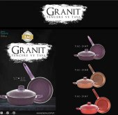 Taç Granit Plus 3 Parça Tencere Seti Renk Secenekl...