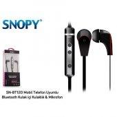 Snopy Sn Bt120 Telefon Uyumlu Bluetooth Kulak İçı Kulaklık