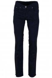 Erkek Keten Pantolon Lacivert Slim Fit Likralı Rar00291