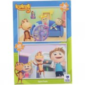Kukuli 2 İn 1 Puzzle
