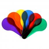 Piramigo 6 Adet Eğlenceli Montessori Renk Eşleştirme Seti