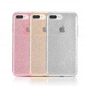 Iphone 7 8 Plus Ultra İnce Star Shining Simli Kılıf Tpu + Pc