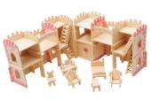 Piramigo 3d Büyük Prenses Kalesi Maketi
