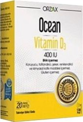 Ocean Vitamin D3 400 Iu 20 Ml Sprey Skt 01 2020