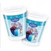 Frozen Ice Skating Plastik Bardak 8 Adet