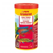 Sera Granu Red Etçil Balık Yemi 1000 Ml 565 Gram