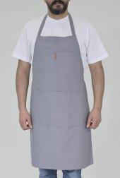 Iş Önlüğü Ön Önlük Boyundan Askılı Cepli Mutfak Aşçı Unisex