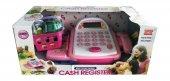 Sesli, Işıklı Barkodlu Oyuncak Yazar Kasa Ve Aksesuarları Cash Register Seti