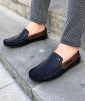 Lfg Lacivert Renk Kahverengi Detay Günlük Ayakkabı