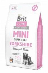 Brit Care Mini Adult Yorkshire Somon Tuna Balıklı Mama 2 Kg