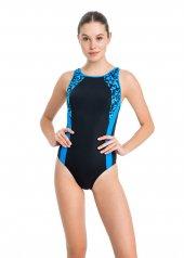 Dagi Kadın Kalın Askılı Yüzücü Mayo Mavi B0118y0035mv