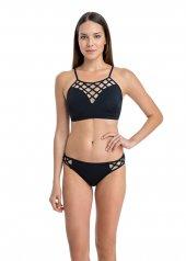 Dagi Kadın İnce Askılı Bikini Takımı Siyah B0118y0110sy