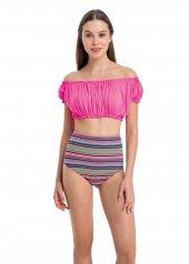 Dagi Kadın Düşük Yakalı Bikini Takımı Pembe B0118y0401pem