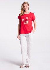 Dagi Kadın Pijama Takımı Kırmızı B0218y0015kır