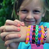 Rengarenk Örgü Tezgahlı Bileklik Yapma Seti Rainbow Bands