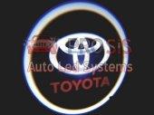 Toyota Araçlar İçin Pilli Yapıştırmalı Kapı Altı Led Logo