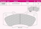 Grap 94167 Ön Fren Balatası (Toyota Hı Lux 2,5 D 4d 4wd 08)