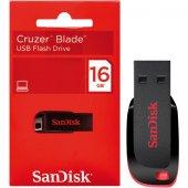 16gb Usb 2.0 Cruzer Blade Sandısk Sdcz50 016g B35 Usb Bellek