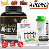 Torq Nutrition Gold Whey Protein Tozu 2300 Gr + Thermogenic L Carnitine Shot 20 Adet