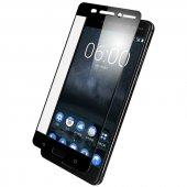 Nokia 5 3d Kırılmaz Cam Ekran Koruyucu Tam Kaplama Full Body