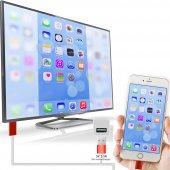Iphone 5 5s 5c 6 6 Plus Hdmi Kablo Tv Bağlantı Gör...