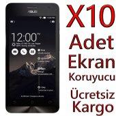 Asus Zenfone 6 Ekran Koruyucu Film Jelatin 10 Adet