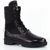 Us Army Leather Black Bot Postal Kış Sezonu Erkek Postal Aske