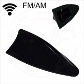 Oto Anten Fm Am Fonksiyonlu Universal Kalite 3m Siyah Renk Oa405