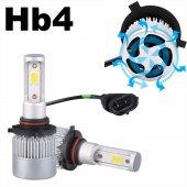 Hb4 9006 Led Xenon Set Şimşek Etkili 8000 Lümen 6500 K 36 Watt Zenon Far