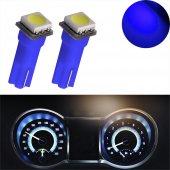 Gösterge İbre Ampulü T5 1 Smd Led Dipsiz Mavi Renk