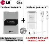 Lg G4 Batarya + Lg G4 Şarj Cihazı + Usb Şarj Kablosu Set