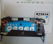 Hp Q7581a Crg711 Mavi Fragile Muadil Toner (6.000 Sf)